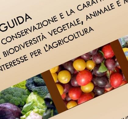 Linee guida sulla biodiversità agricola